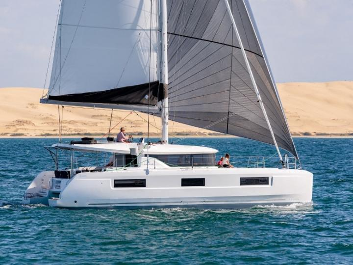Grenada, Caribbean Netherlands Catamaran boat rental - charter a boat for up to 8 guests.
