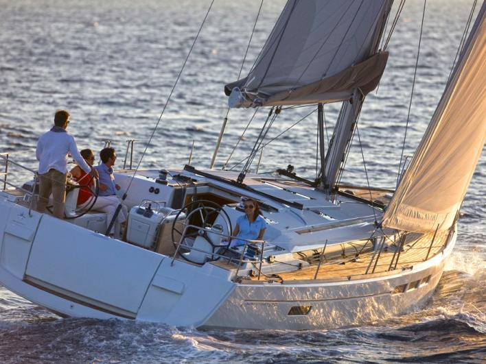 Discover Scarlino, Italy, aboard this great sail boat for rent.