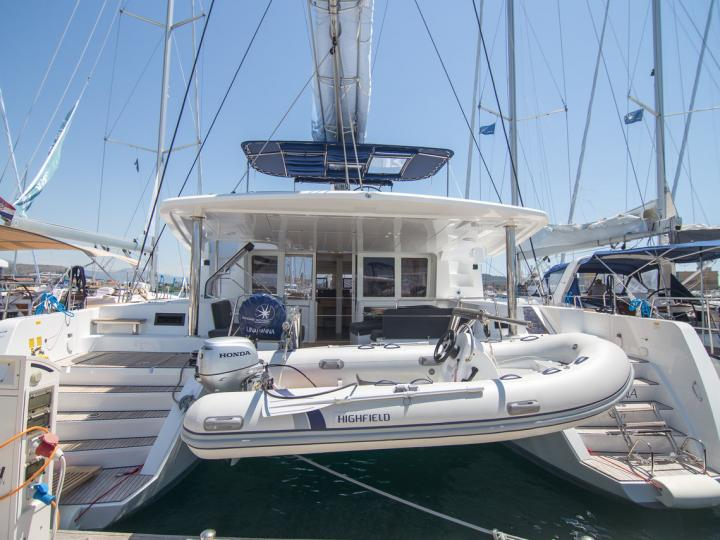Looking for an affordable catamaran for rent in Seget Donji, Croatia? You've found your vacation sailboat!