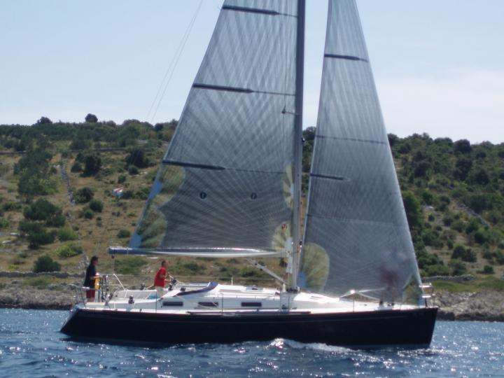 A great sailboat rental in Primošten, Croatia.