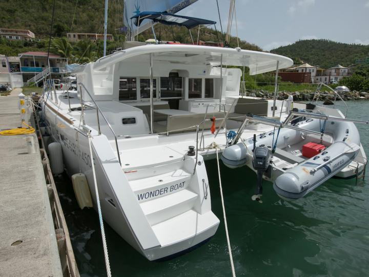 A great catamaran for rent - discover all  British Virgin Islands from water.