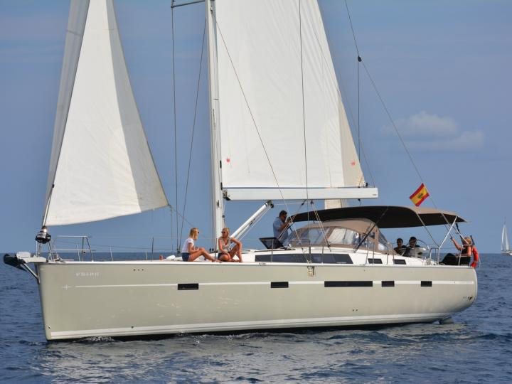 Someday - a 5 cabins 55ft boat for rent in Sitges, Spain. Enjoy a great yacht charter for 8 guests.