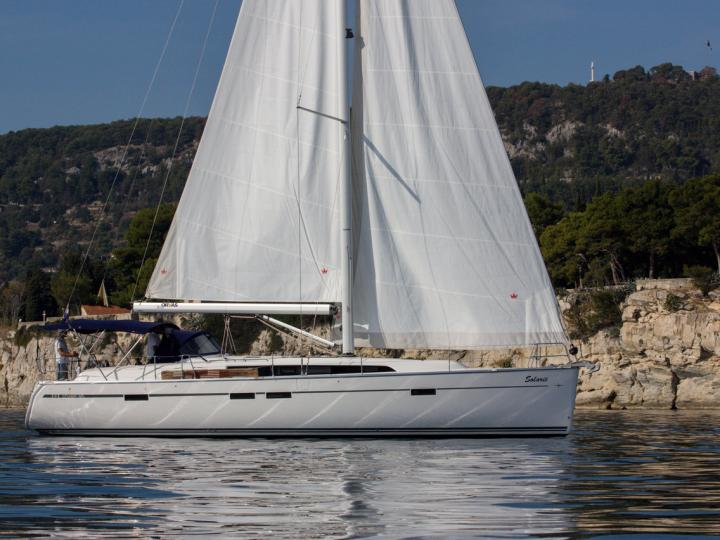 sail boat boat for rent in Split, Croatia for up to 8 guests - the Solarić sail boat.