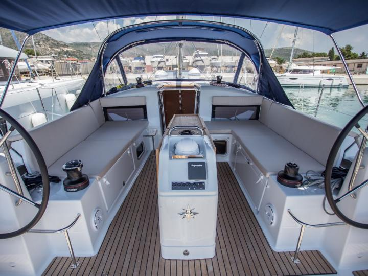 Need to relax and enjoy yourself? Then rent this sailboat in Seget Donji, Croatia and enjoy the perfect yacht charter in the Adriatic for 8 guests.