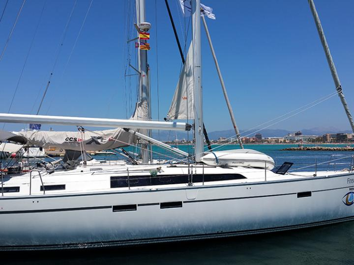 Rent a boat in Palma, Spain - the Firewall yacht charter.