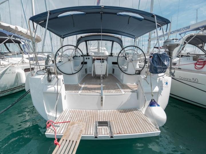 Sail the beautiful turquoise waters of Dalmatia, Croatia on a boat for rent.