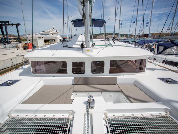 Swedish Lady SPA - a 46ft catamaran for rent in Palma, Spain. Enjoy a great boat charter for 8 guests.