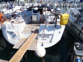 Private boat rental in Athens, Greece for up to 8 guests.