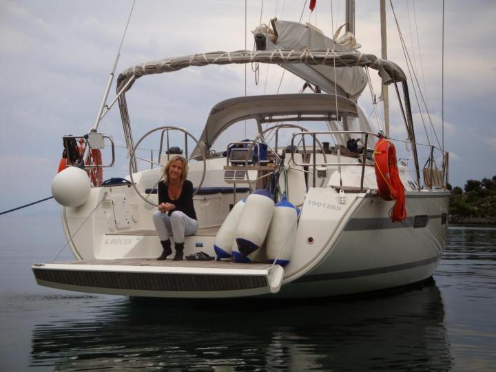 Affordable sail boat for rent in Göcek, Turkey.