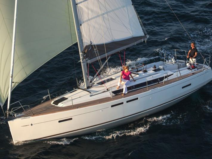 Sail on a beautiful 40ft boat for rent in Fethiye, Turkey - the ultimate vacation trip on a yacht charter.