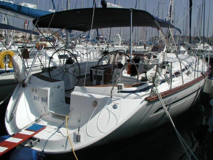 Perfect yacht charter in Primošten, Croatia - the Sea Gull boat for rent.
