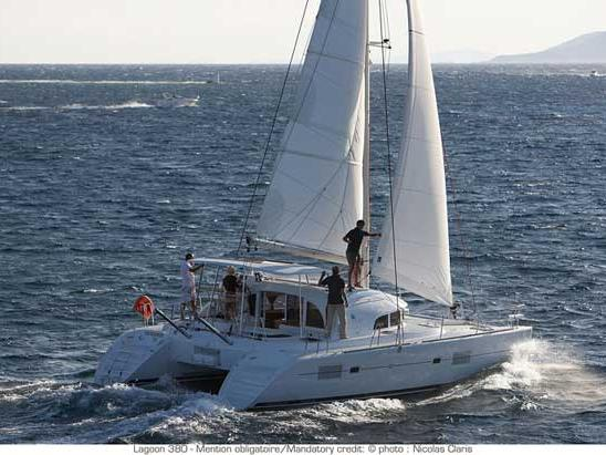 Rent a beautiful 38ft catamaran in Trogir, Croatia - the best family vacation trip on a yacht charter.