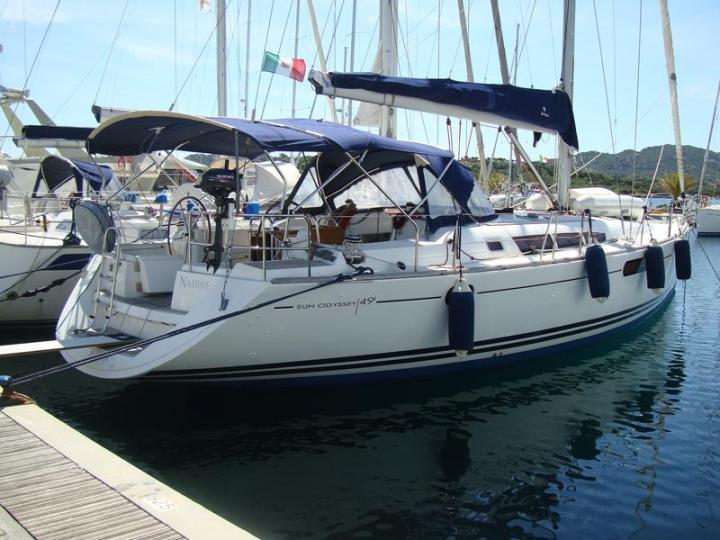 Yacht charter in Portisco, Sardinia, Italy - a 8 guests boat for rent.
