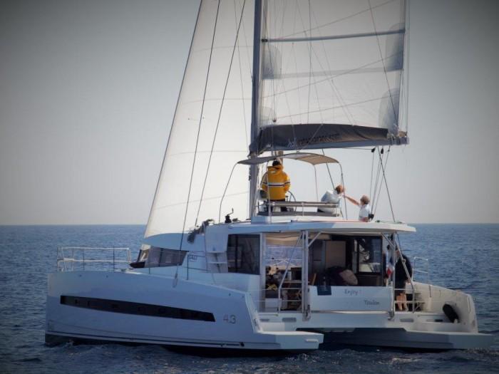 Charter a catamaran boat in Key West, United States - the CASOAR_DB.