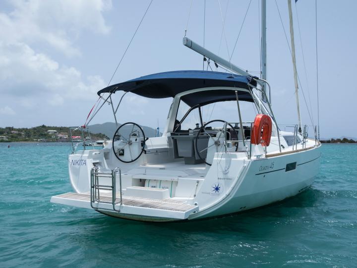 Nikita - a 45ft boat for rent in Road Town, BVI. Enjoy a great yacht charter for 8 guests.