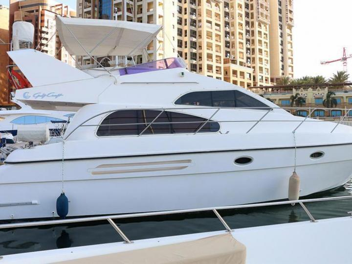 Rent our 46ft luxurious Yacht in Dubai