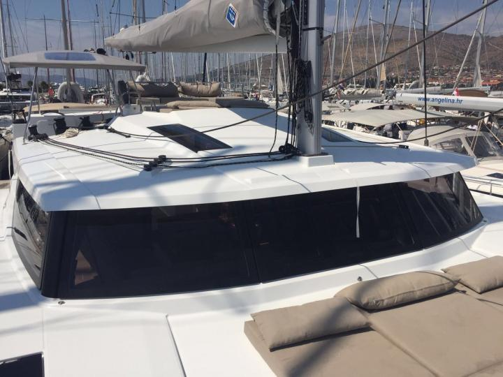 Catamaran yacht charter in Rogoznica, Croatia.
