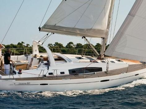 Rent a sail boat in Scarlino, Italy - the Calipso.