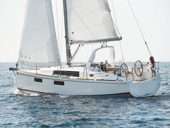 Rent a beautiful 34ft sail boat in Split, Croatia.