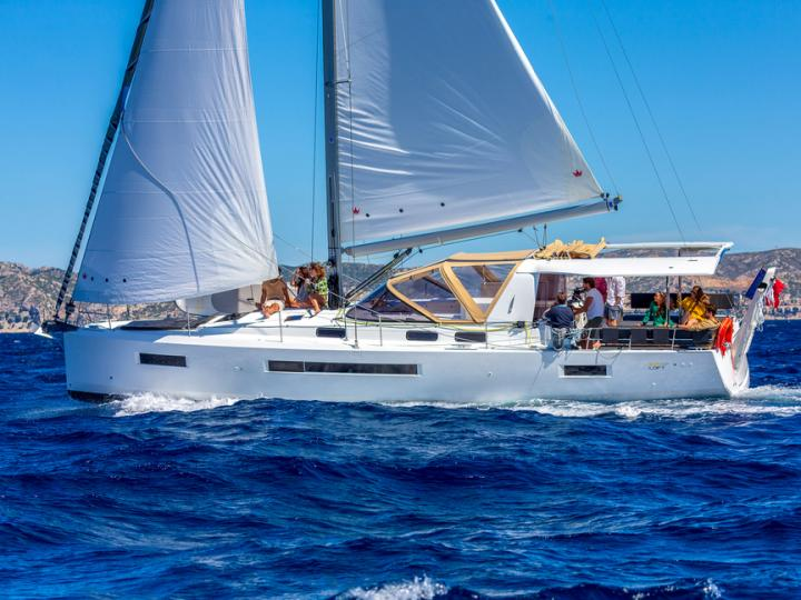 A marvelous brand new sailboat rental for you next adventure - discover Adriatic waters of Croatia can offer aboard a this 46ft sailboat.