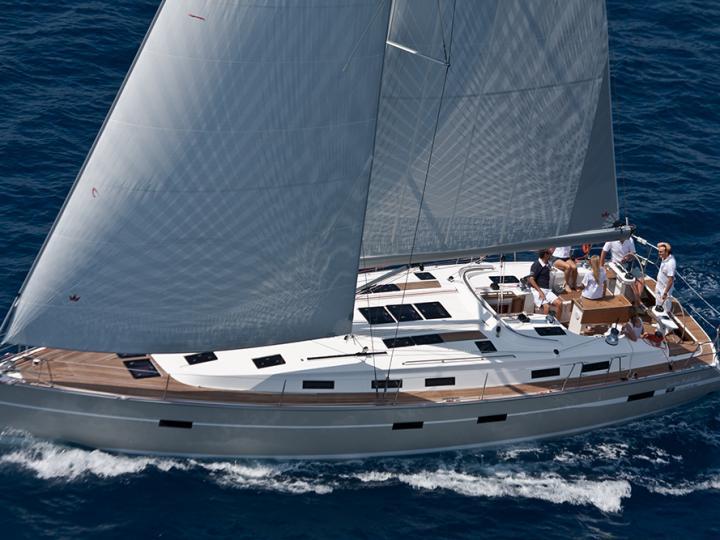 Rent a sail boat in Scarlino, Italy - the Aladar.