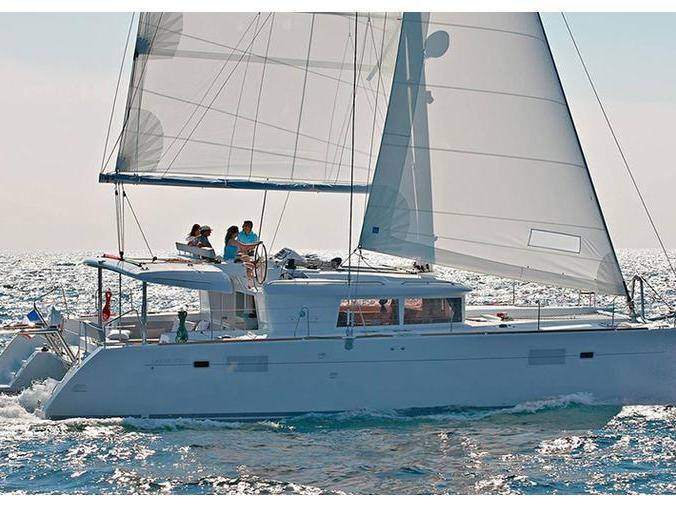 Catamaran for rent in Trogir, Croatia. Enjoy a great yacht charter for 8 guests.