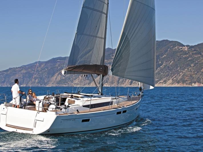 Sail on a boat for rent in Trogir, Croatia for up to 8 guests.
