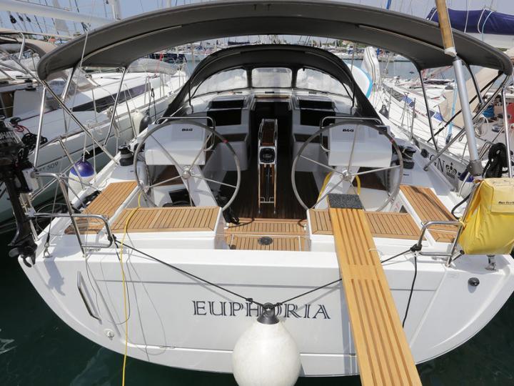 Excellent yacht charter in Split, Croatia - EUPHORIA sailboat!