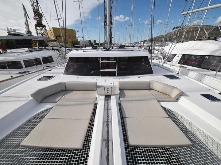 Beautiful catamaran for rent in Split, Croatia!