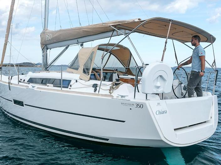 Sailing charter in Portisco, Italy - rent a sail boat for up to 6 guests.