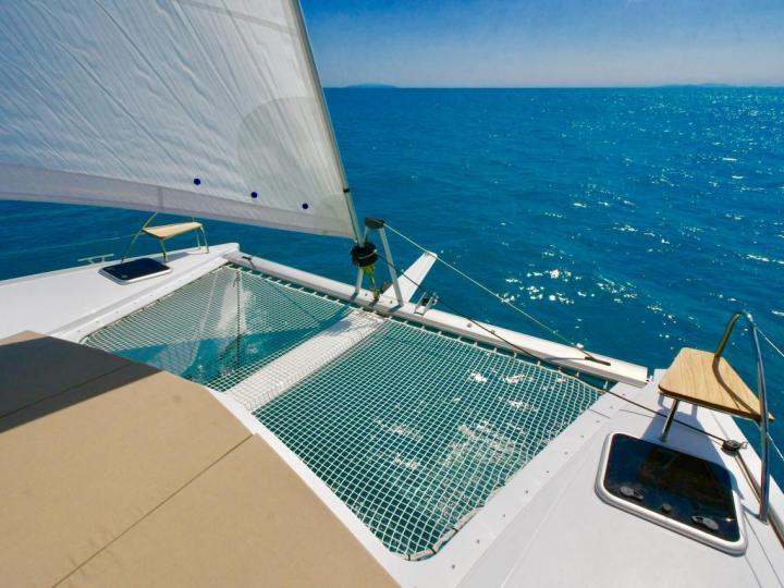 The best boat rental in Castellammare di Stabia, Italy - amazing catamaran for rent.