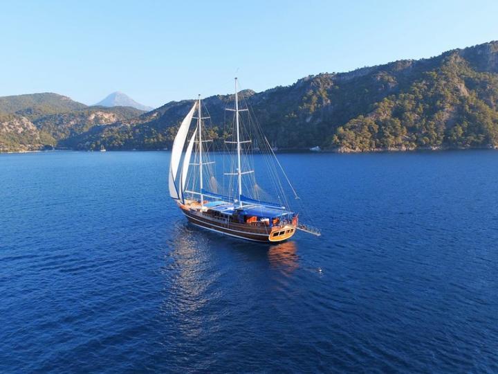 Rent a Gullet powerboat in Bodrum, Turkey.