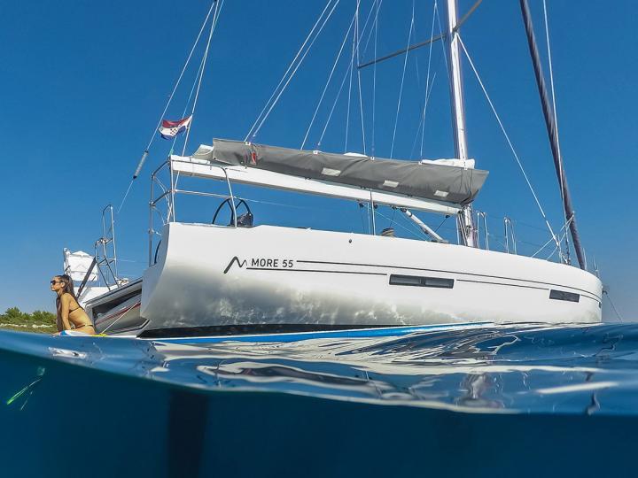 Top sailboat for rent in Primošten, Croatia.