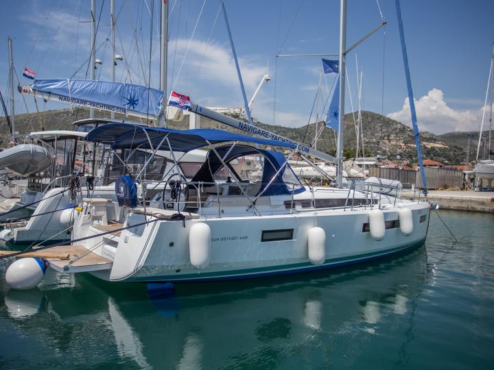 Dreams do come true! Rent this 43ft sailboat near Split, Croatia and design a boat trip like never before.