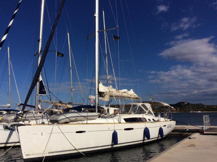Portocolom, Spain boat rental - a sailboat for up to 8 guests.