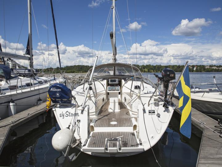 Sail around Lidingö, Sweden on a sail boat - rent the amazing Storm boat and discover sailing.