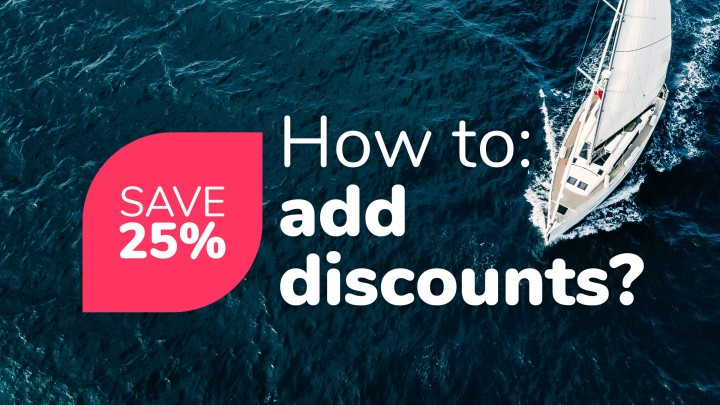 How to add Discounts?