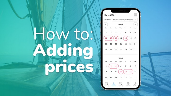 Adding & managing prices & availability
