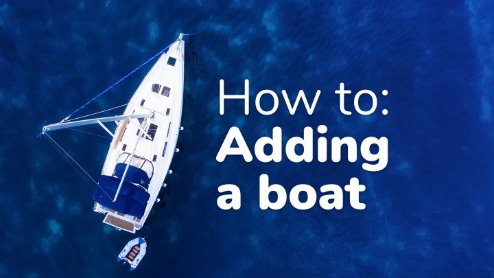 How to add a boat